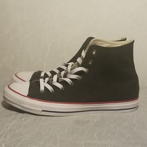 Converse CTAS All Star High Tops 9M/11W Red Black